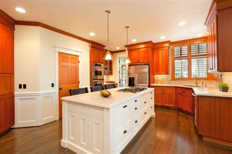 Kitchens With Contrast : 34 Kitchens With Dark Wood Floors (pictures