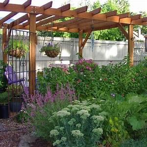 Garten Pergola Selber Bauen : pergola und gartenzaun selber bauen balken sichtschutz ~ A.2002-acura-tl-radio.info Haus und Dekorationen