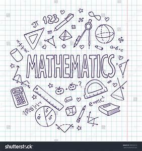 Hand Drawn Vector School Set Mathematics Stock Vector 308352212 Shutterstock