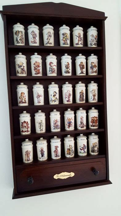 Complete Spice Rack by Original Hummel Spice Rack Complete Set With Thirty