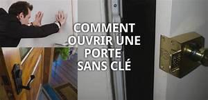 comment ouvrir une porte claquee sans cles With ouvrir porte garage sans clé