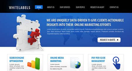 Website Marketing Companies by 110 Fresh Free Website Layout Psd Templates