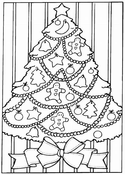 Xmas Coloring Pages Printable Themed Christmas Colouring