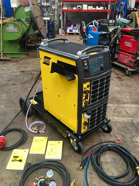 esab origo tig 4300iw ac dc ta24 water cooled 415v tig welder inverter package