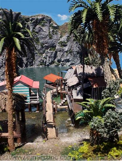 Village Fishing Philippine Project Dioramas Scale Models