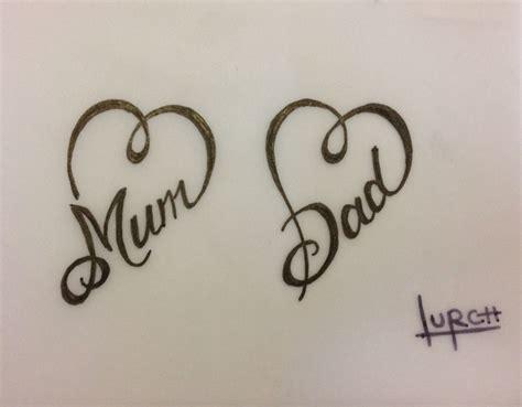 mum  dad tattoos ideas  pinterest mom