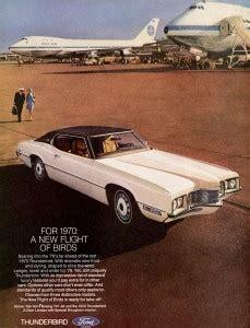 ford thunderbird landau ad classic cars today