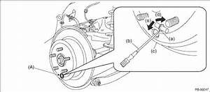 Subaru Crosstrek Service Manual - Adjustment