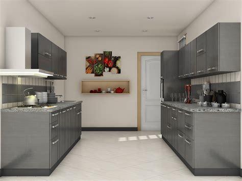 Grey Modular Kitchen Designs  Home  Pinterest Kitchen