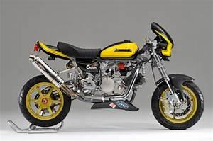 Racing Caf U00e8  Honda Monkey  2 By Gcraft