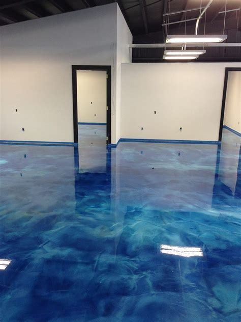 Making a 3D Epoxy Metallic Floor Step by Step Floor Epoxy