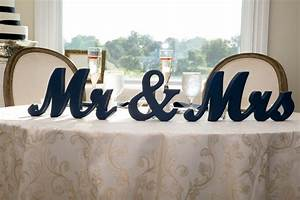 mr mrs wedding table signs for sweetheart table decor wooden With mr and mrs letters for wedding