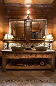 26, Impressive, Ideas, Of, Rustic, Bathroom, Vanity