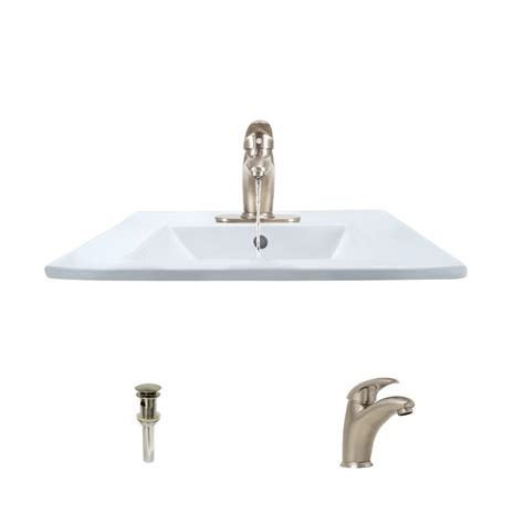 american standard semi recessed sink decolav classically redefined semi recessed square vessel