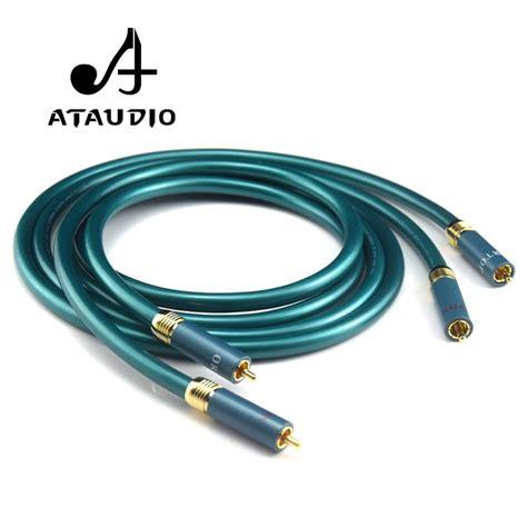 Ataudio Hifi Ortofon Rca Cable End Amplifier