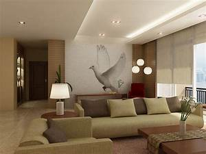 Modern Home Decor With Natural Color Furniture And ...
