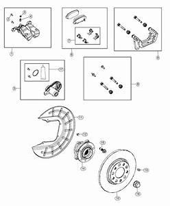 2019 Jeep Cherokee Rotor  Brake  Rear  Right Or Left