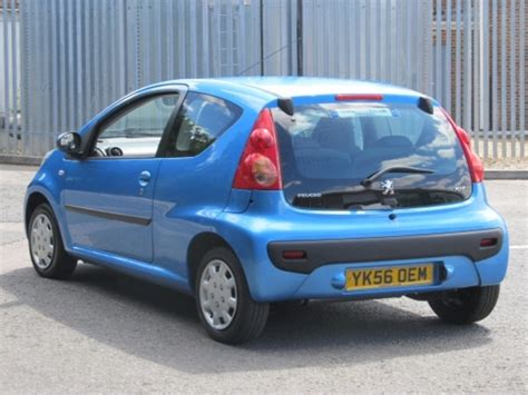 peugeot for sale uk used peugeot 107 2006 automatic petrol blue for sale uk