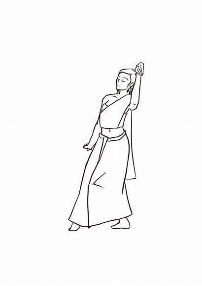 Dancing Thai Drawings Dance Animation Dope Anime