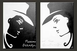 Tableau Moderne Noir Et Blanc : tableaux en noir et blanc ~ Teatrodelosmanantiales.com Idées de Décoration