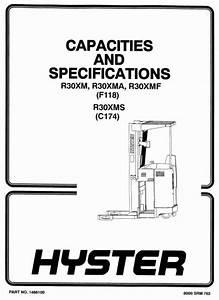 Original Illustrated Factory Workshop Manual For Hyster