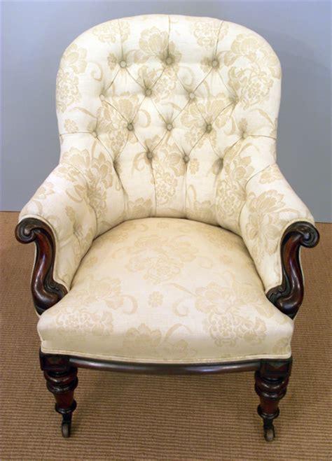 victorian button  armchair antique arm chair