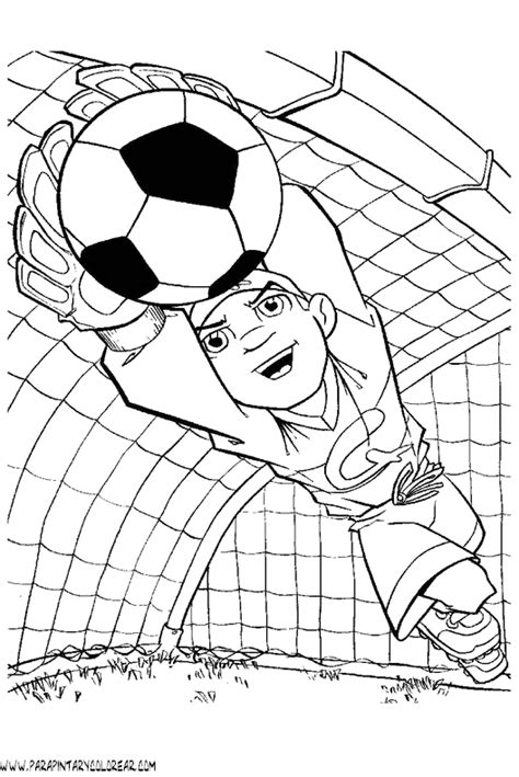 dibujos de educacion fisica para imprimir dibujos deporte futbol 011