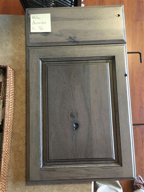starmark rustic hickory accord panel driftwood finish