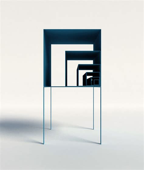 fibonacci furniture the fibonacci shelf by peng wang