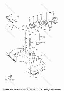 Yamaha Waverunner 2003 Oem Parts Diagram For Oil Tank