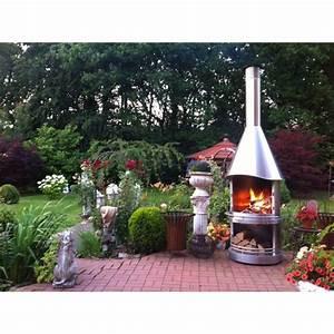 Cheminee D Exterieur Barbecue : chemin e d 39 ext rieur barbecue las vegas 800 e inox ~ Premium-room.com Idées de Décoration
