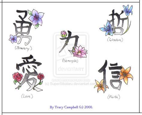 japanese flower tattoos  meanings flower symbols