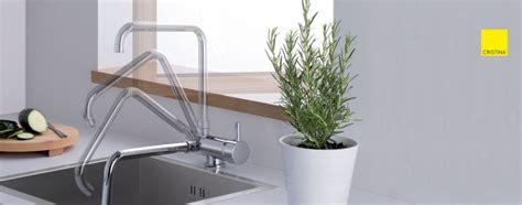 robinet cuisine escamotable sous fenetre mitigeur sous fenêtre pour évier de cuisine cristina