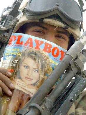 playboy brings nudity   magazine