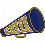 Megaphone Cheer Clipart Cheerleader Cheerleading Clip Megaphones