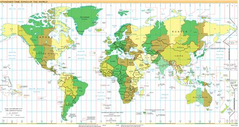 time zones universal time