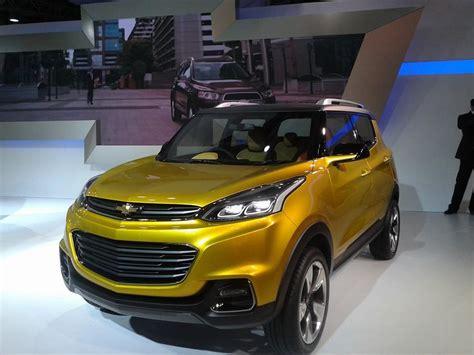2014 Auto Expo  Gm Showcases Chevrolet Adra Concept Mini Suv