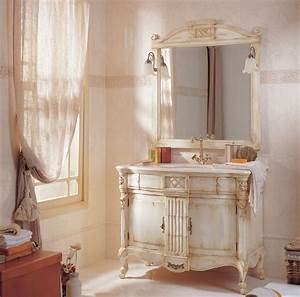 deco shabby chic ooreka With salle de bain style ancien