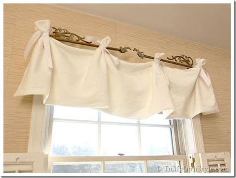 sew window valance diy curtains modern home