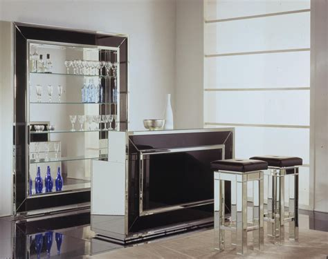 Black Home Bar Furniture by Home Bars Home Bar Venetian Luxury Glass Home Bar