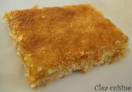 clea cuisine tarte citron barres au citron clea cuisine