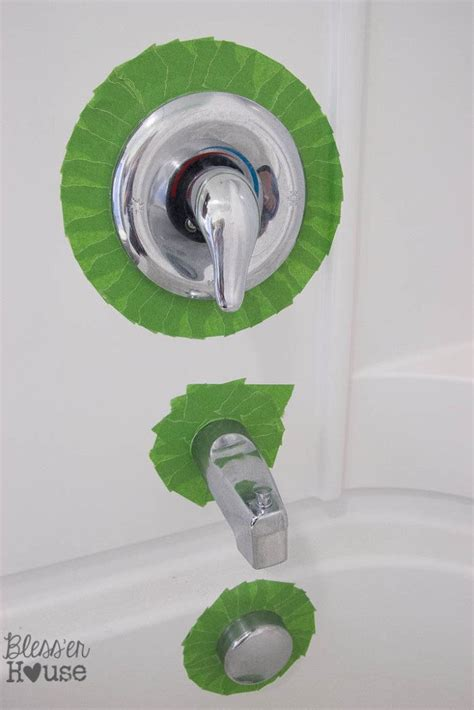 Can You Spray Paint Bathroom Fixtures by How To Spray Paint Shower Fixtures Easy Diy Method