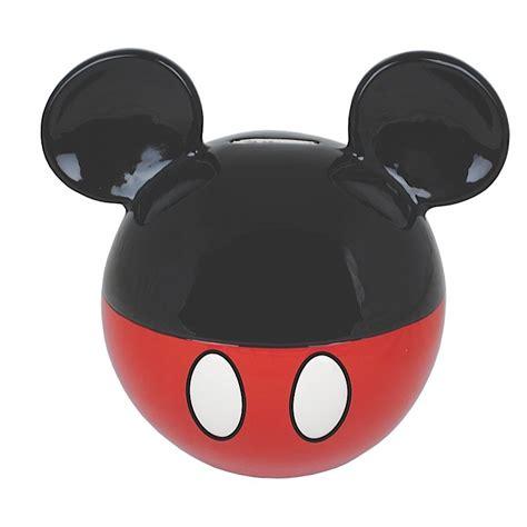 hucha cer 225 mica forma orejas mickey mouse vintage disney ahorros ebay