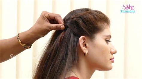 hair style  long hair simple craft ideas