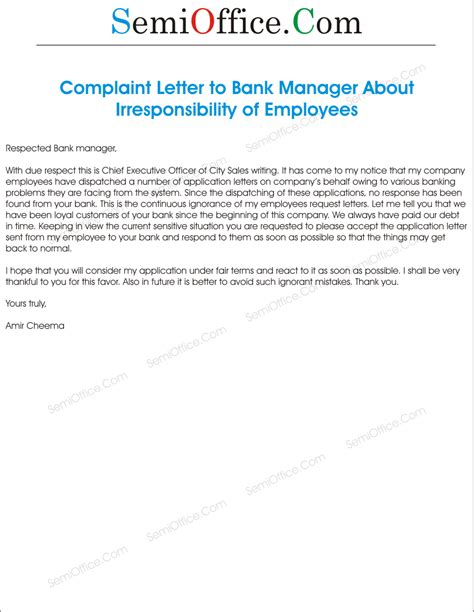 complaint letters archives page    semiofficecom