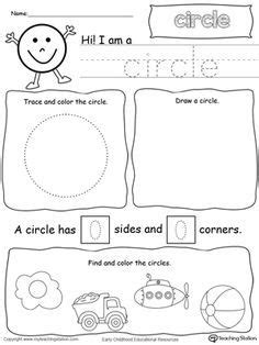 Rectangle Shape Picture Tracing Worksheet  Tracing Worksheets, Shape Pictures And Worksheets