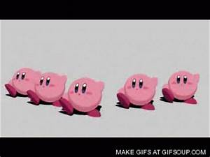 kawaii kirby dance gif by gyroidsir on DeviantArt
