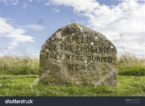 Clan Graves Culloden Moor Scotland Stock Photo 240610705