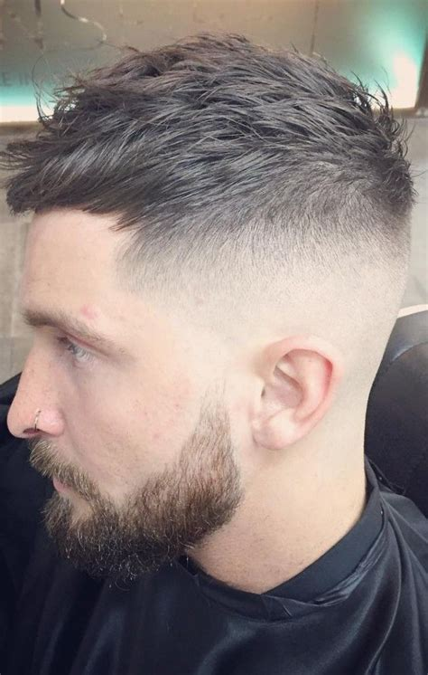 high fade top brushed forward search