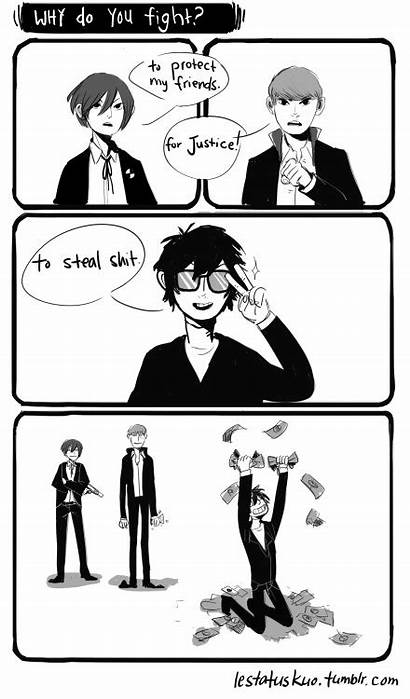 Persona Memes P5 Akira Megami Tensei Shin